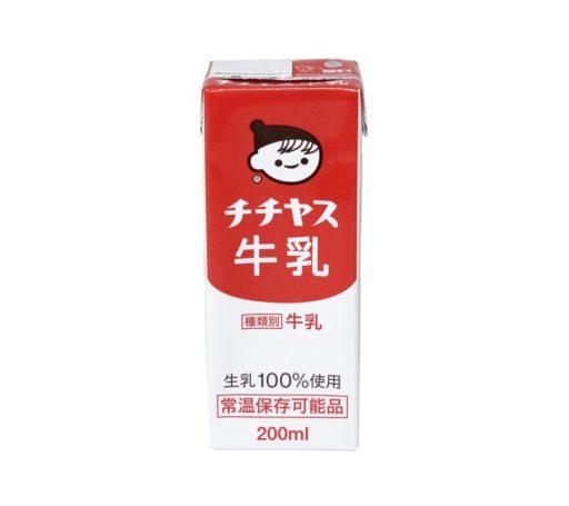 チチヤス牛乳 200ml